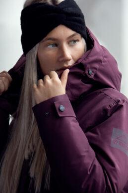 Woman in Outdoor Winter Jacket